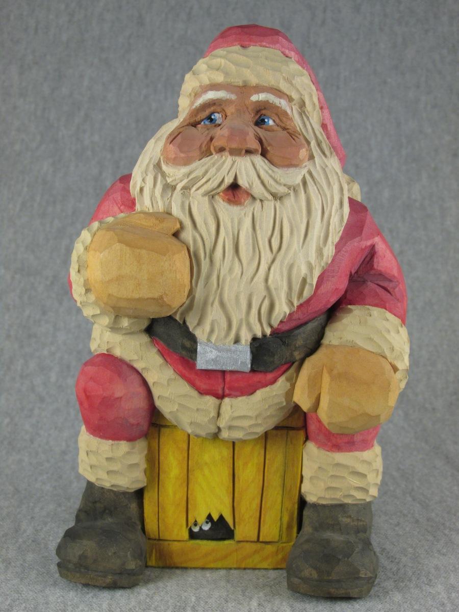 Sitting Santa by Gary Falin